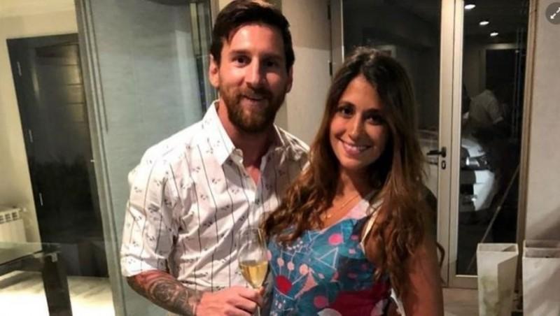 Lionel Messi recibió el 2018 en familia y pidió un deseo muy especial