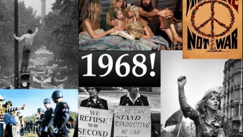A 50 años del mágico 1968, entre el amor libre y la revolución