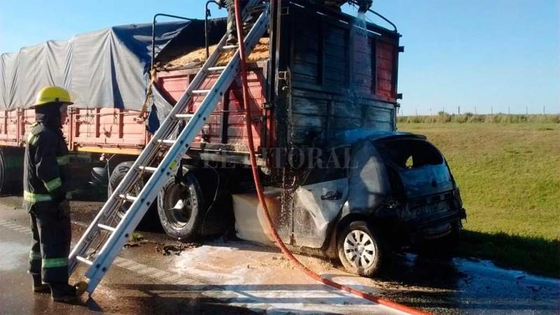 Choque fatal en la autopista Rosario – Córdoba