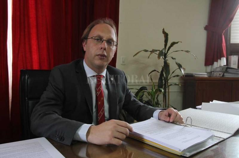 Saglione destacó que el presupuesto 2018 tiene otra fuerte apuesta a la obra pública