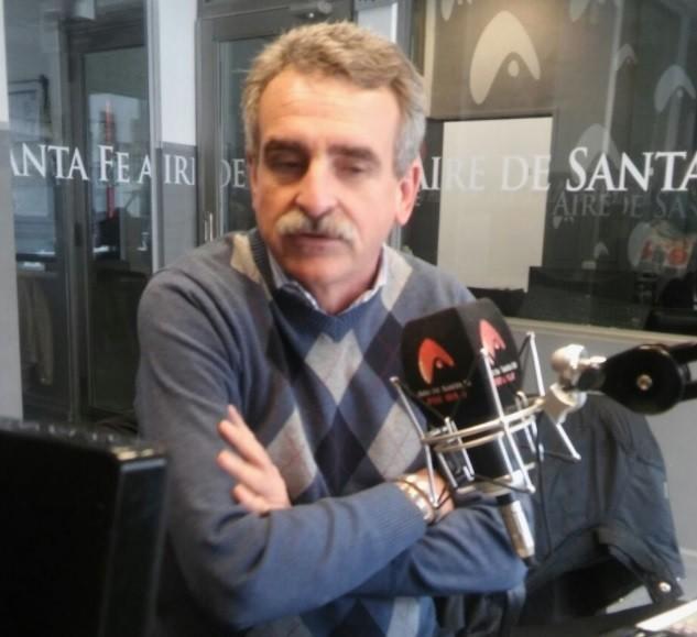 Irreconocible: el cambio de look del diputado Agustín Rossi