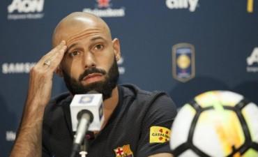 Sampaoli le planteó a Mascherano su preocupación por la falta de continuidad en el Barcelona