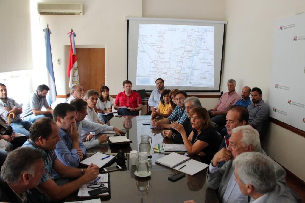 Ciciliani promete un trámite express para productores en emergencia
