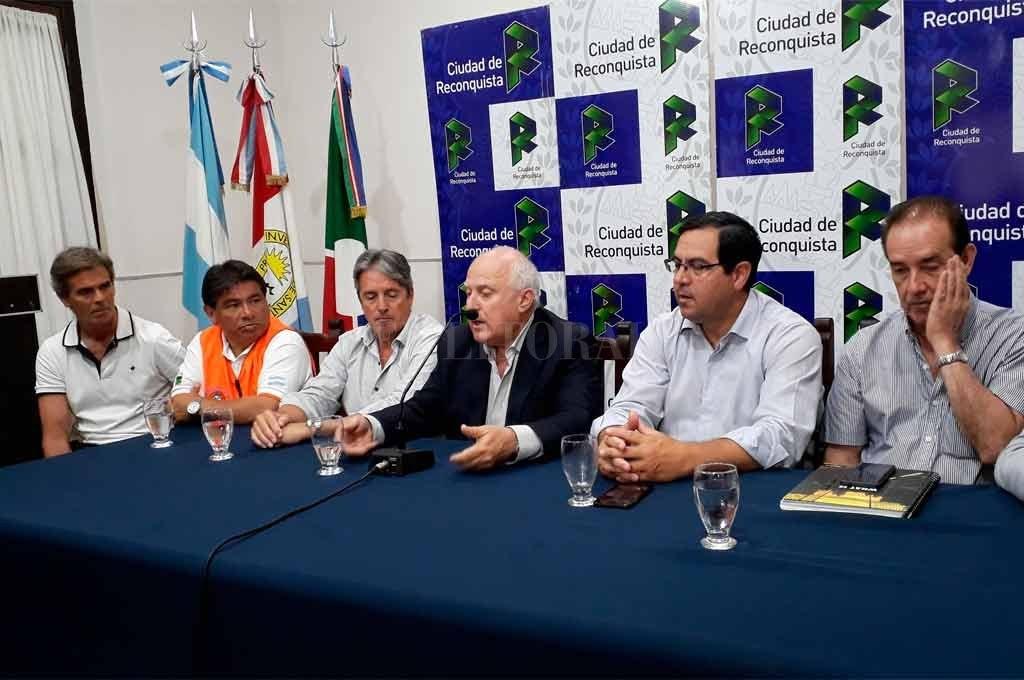 Visita sorpresa de Lifschitz a Reconquista por la emergencia