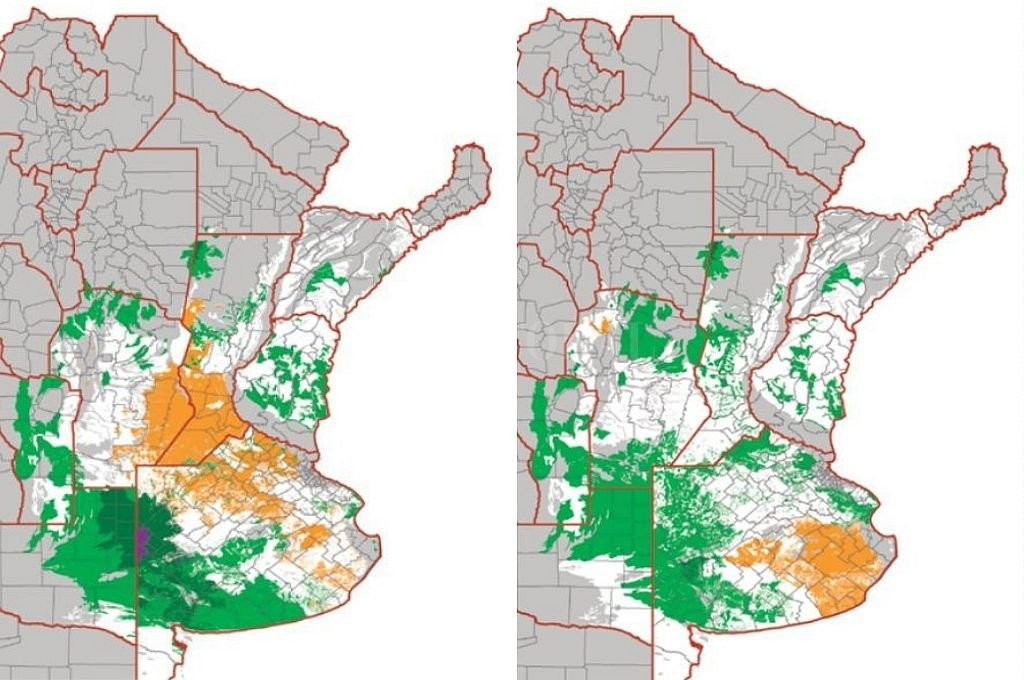 Presentan una mapa de riesgo de déficit y excesos hídricos en los cultivos