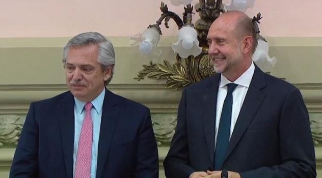 Perotti dijo que resolverán con el Presidente el pago de la deuda histórica