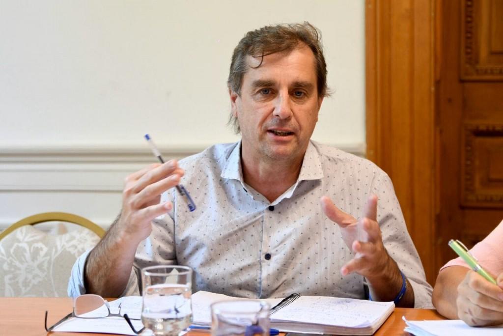 """Danilo Capitani: """"Necesitamos el acompañamiento del poder legislativo para estar la lado de los que más lo necesitan"""""""
