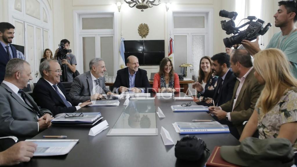 Perotti y Sain reunidos con la ministra de Seguridad de la Nación para coordinar el trabajo de las fuerzas federales