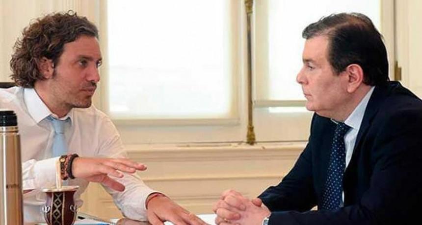 El gobernador Zamora mantuvo importantes reuniones con Cafiero, De Pedro y Lanziani