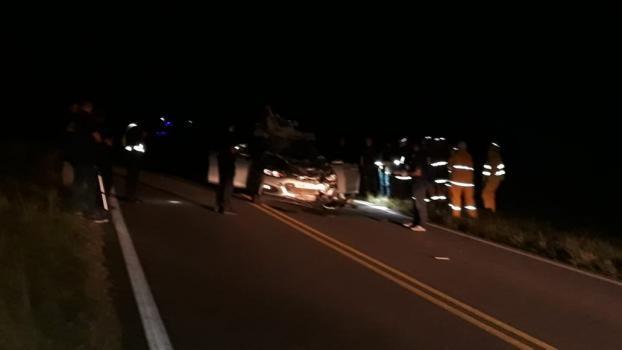 El presidente del Círculo de Oficiales de Policía murió tras chocar dos caballos sobre Ruta 1