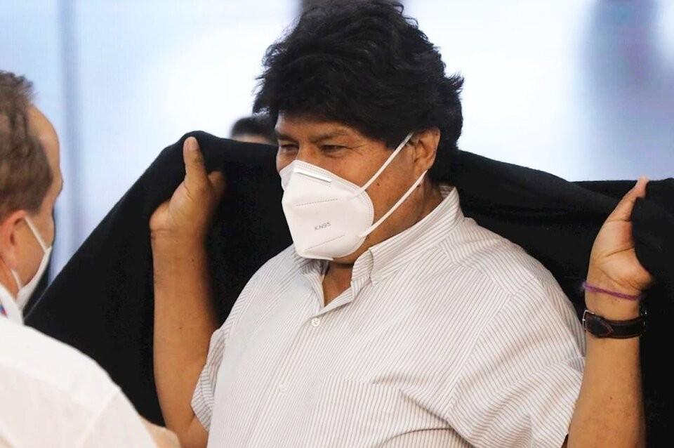 Evo Morales está internado por coronavirus en Bolivia