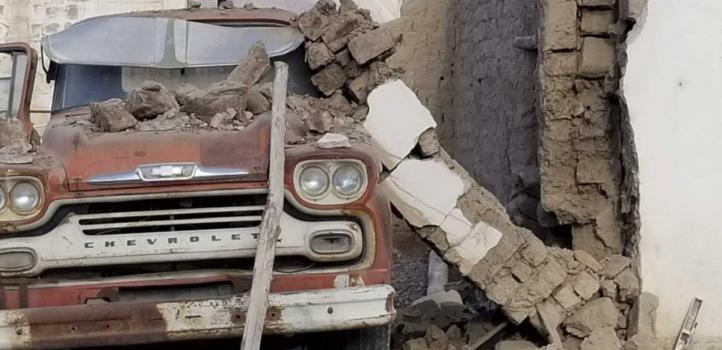 San Juan: las imágenes del terremoto más grande en 40 años