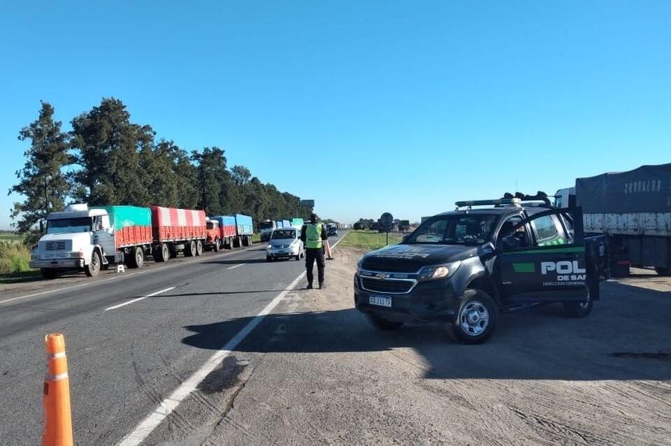 Reclamo de camioneros: qué rutas tienen paso y dónde está cortado