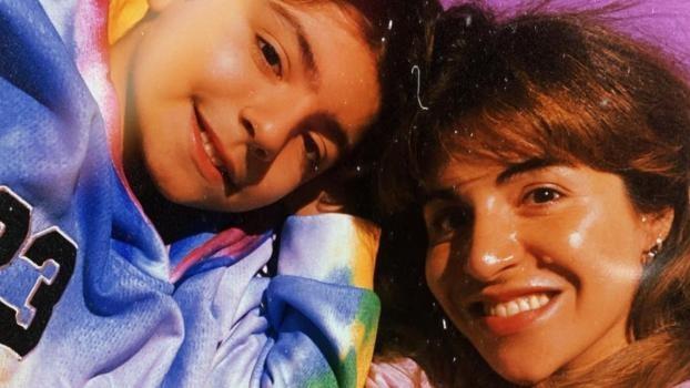 Gianinna Maradona confirmó que su hijo se contagió Covid-19