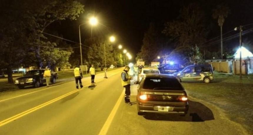 Restricciones nocturnas: Hubo 140 personas aprehendidas y 24 vehículos secuestrados