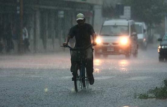 Rige un alerta por lluvias y tormentas intensas