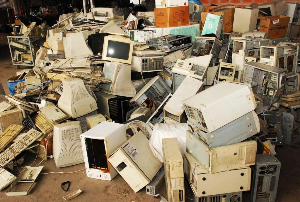 No hay dónde tirar basura electrónica en Santa Fe
