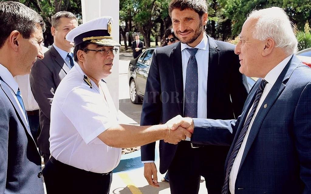 Asumió Marcelo Villanúa como nuevo jefe de Policía de la provincia
