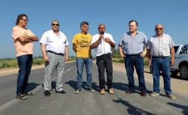 """""""Avanza a todo ritmo la pavimentación de la Ruta Provincial N° 69-s tramo Moisés Ville – Palacios"""""""