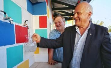 La provincia inauguró una nueva planta potabilizadora de agua en la ciudad de San Cristóbal