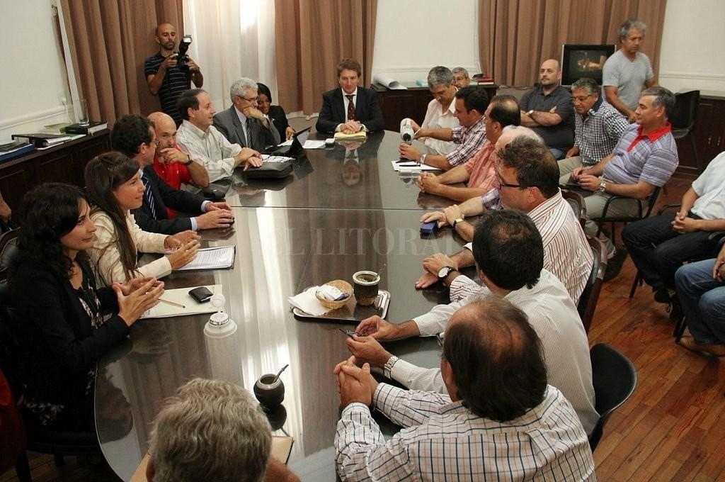 Los municipales fueron convocados para dar inicio a las paritarias
