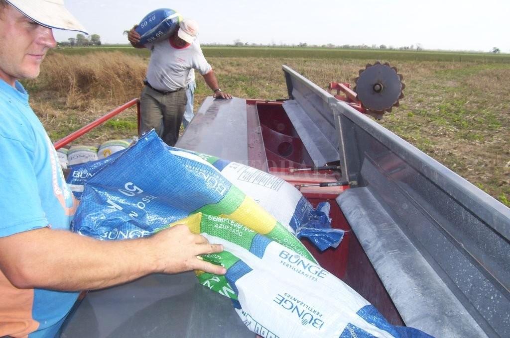 El consumo de fertilizantes se incrementó un 21% en todo el país