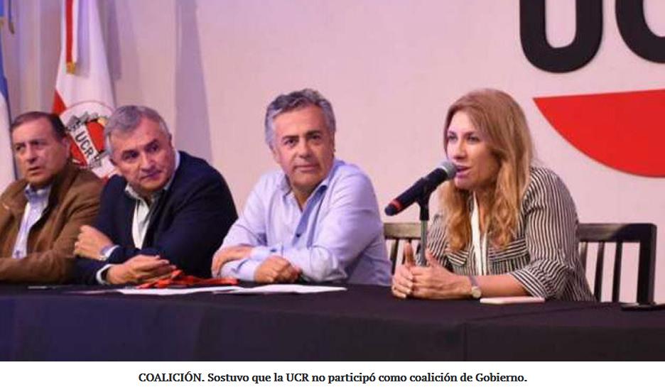 """Desde la UCR indican que Macri """"no es el líder de la oposición"""""""
