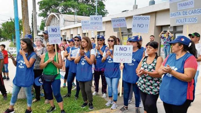 Ceres: la conciliación continúa pero los reintegrados no cobraron enero