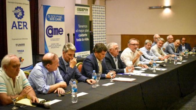 Costamagna repasó la agenda productiva con referentes locales