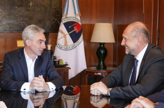 El ministro de Transporte de la Nación recibió a Perotti y a Capitanich