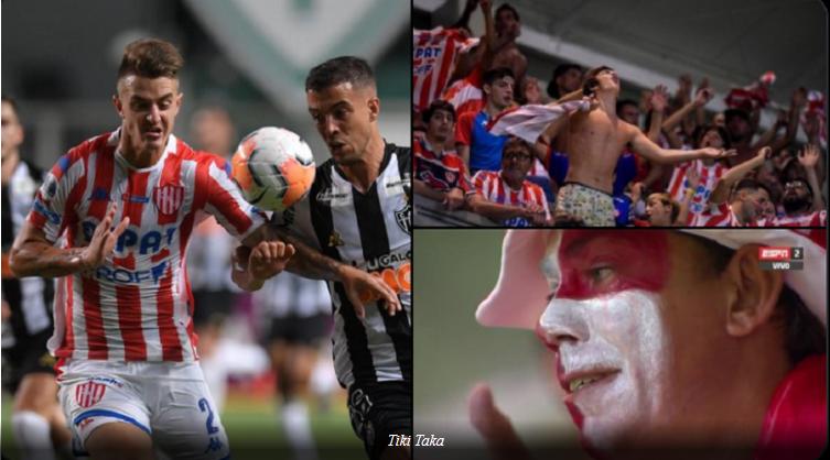 Unión hizo história en Brasil: aguanto el ataque de Mineiro y avanzó a la segunda fase de la Sudamericana