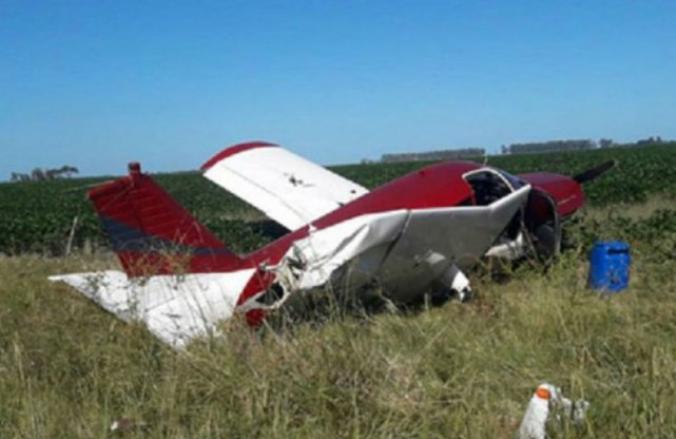 Indagaron al piloto de la avioneta siniestrada en San Justo