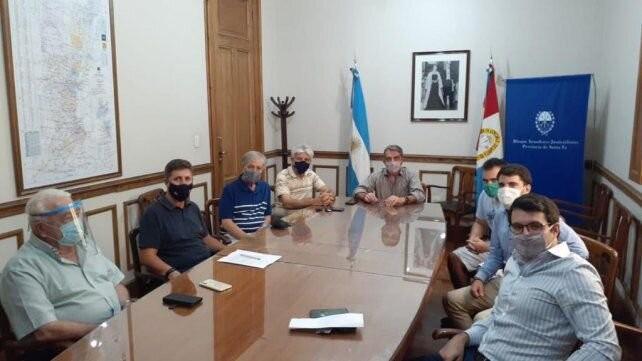 Los senadores del NES-PJ recibieron al nuevo presidente de la Juventud Peronista santafesina