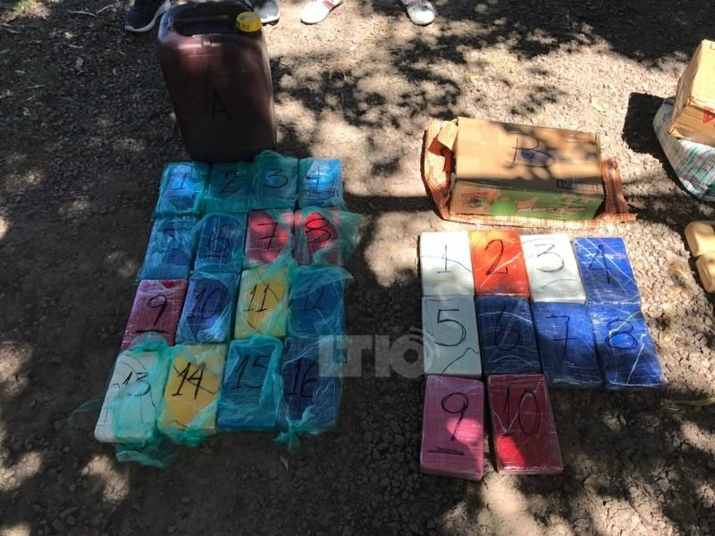Gendarmería incautó 80 kg de cocaína en la ruta nº 34