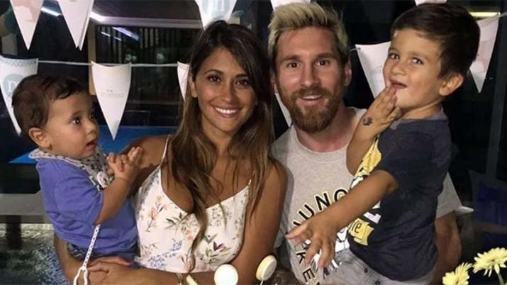 Tras la sanción, así fue el emotivo reencuentro de Messi con su familia
