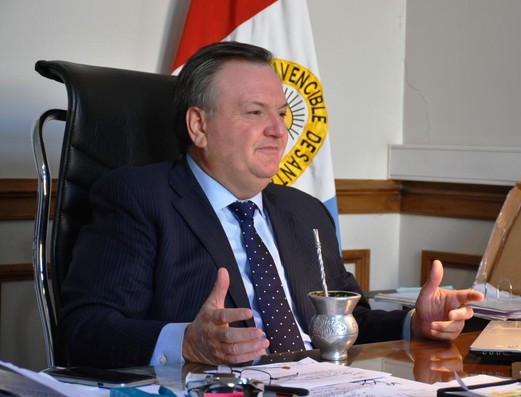 """El Senador Michlig solicita que la Nación acelere la habilitación del """"Gasoducto del Noroeste Argentino"""" -GNEA-"""