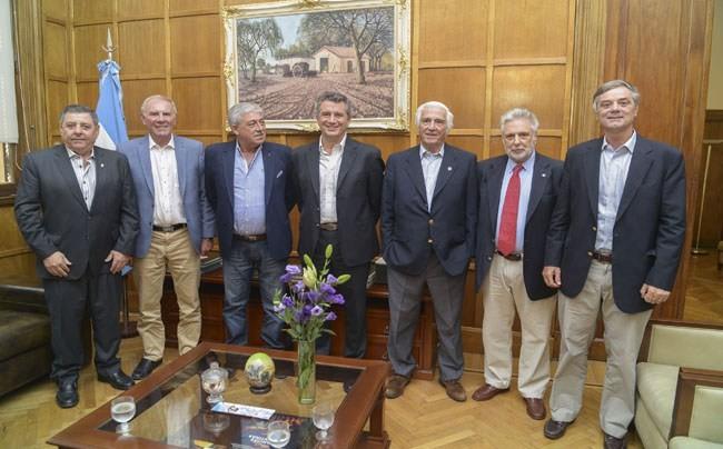 A 10 años de la 125: Etchevehere se reunió con los dirigentes de la Comisión de Enlace de Entidades Agropecuarias de 2008
