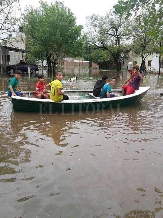 Reconquista: llovieron más de 200 mm y se inundó la ciudad