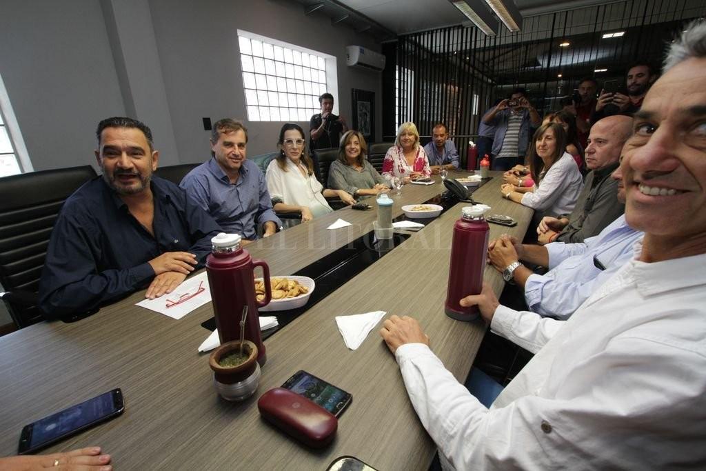 Bielsa reunió a sus candidatos y volvió a criticar la política de seguridad provincial