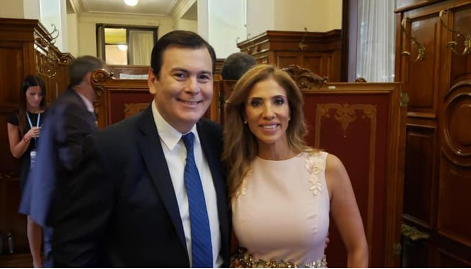El gobernador y la senadora Zamora estuvieron presentes en la Asamblea Legislativa