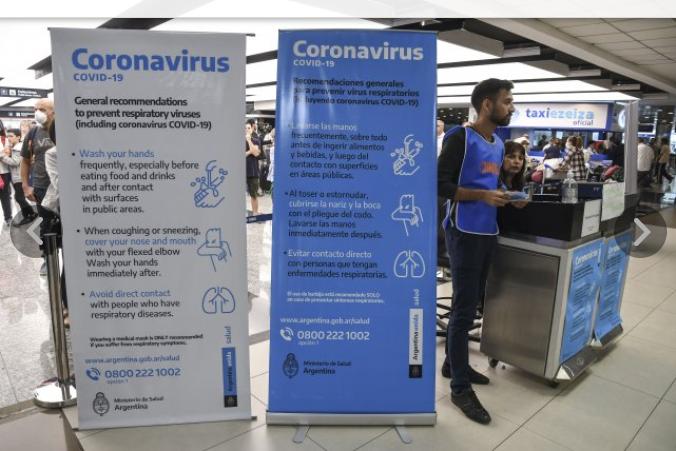 Confirman los tres primeros casos de coronavirus por transmisión local en Argentina