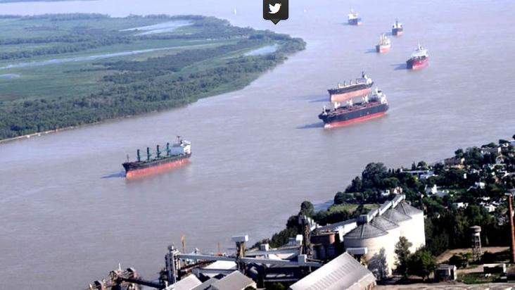 Cuarentena total: hay tensión en los puertos por temor a los barcos extranjeros, los camioneros no ingresan y peligra el 80% de las exportaciones