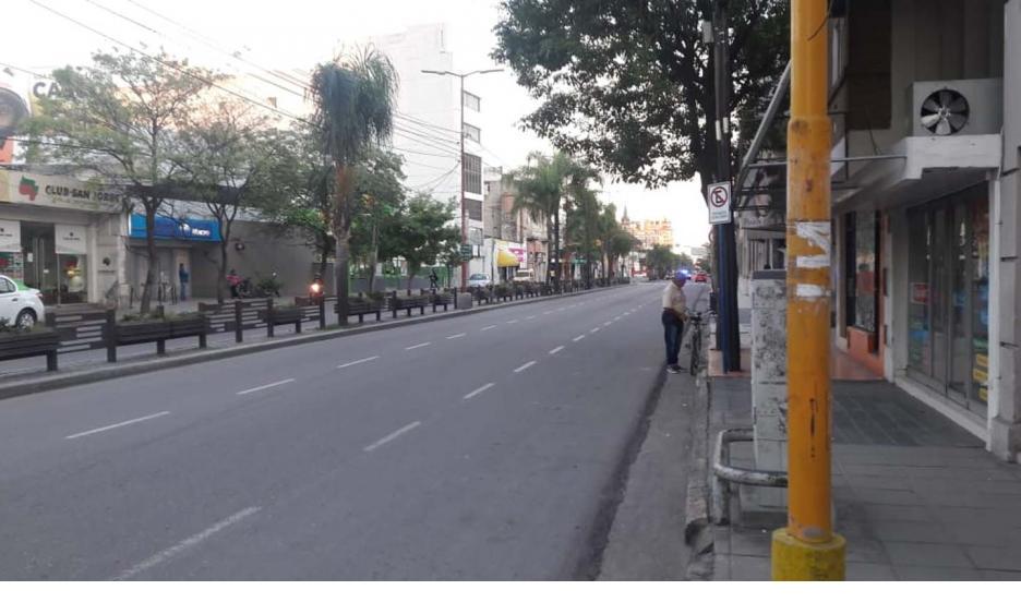 El gobernador Zamora dijo que el transporte público seguirá suspendido hasta el 31 de marzo