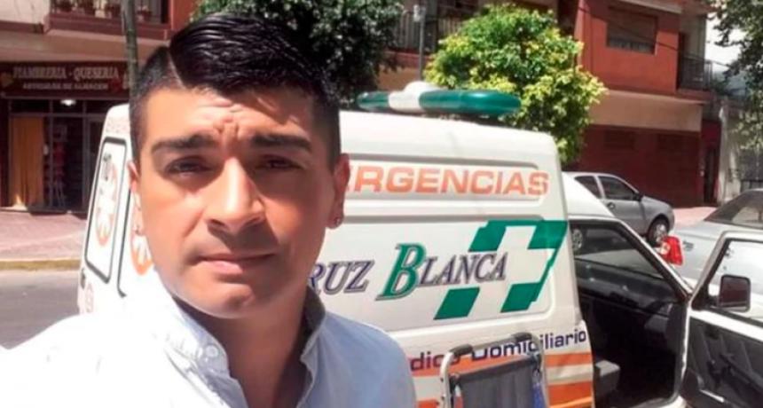 """Surgió de San Lorenzo, jugó casi 20 años al fútbol y hoy maneja una ambulancia: """"Arriesgamos nuestra vida por el coronavirus"""""""
