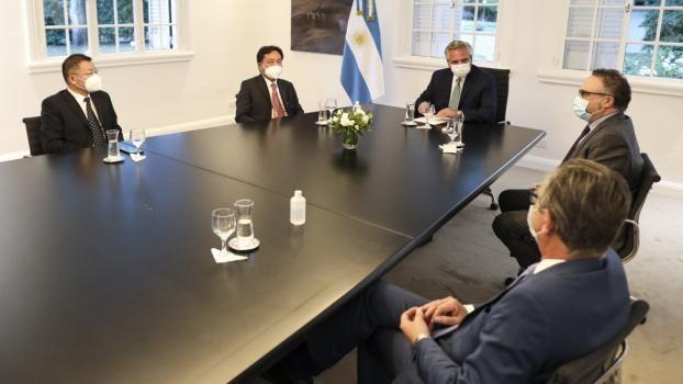 Alberto Fernández recibió a empresarios chinos para acordar nuevas inversiones