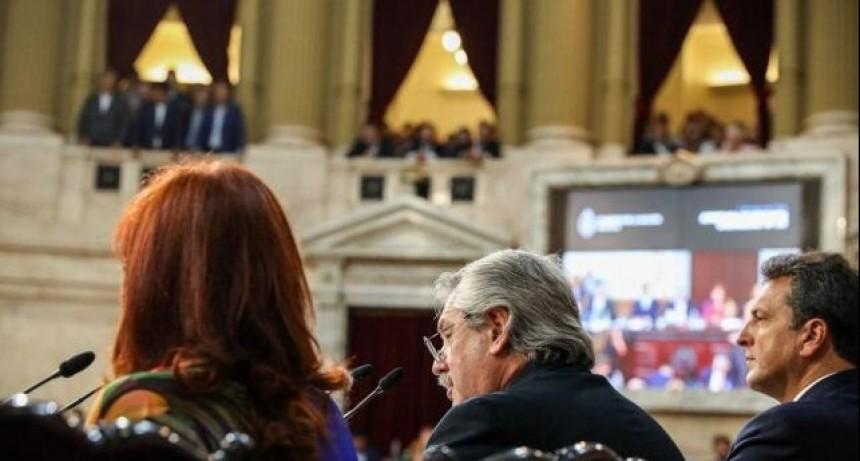 Pandemia, vacunas y economía, pilares del discurso presidencial en el Congreso