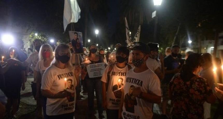 Otra vez las calles de Rosario fueron escenario de una marcha por la inseguridad