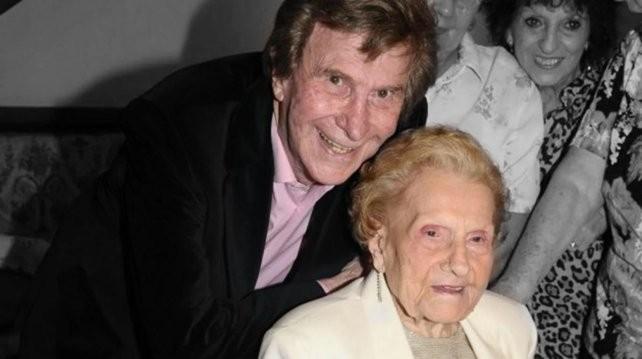 A los 102 años, murió Tita, la madre de Silvio Soldán