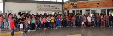"""Un centenar de alumnos de distintas Escuelas de San Cristóbal vivieron """"una jornada inolvidable"""" en la capital Provincial"""
