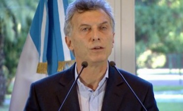 Macri anuncia un acuerdo federal para garantizar el abastecimiento energético